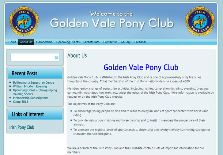 Golden Vale Pony Club