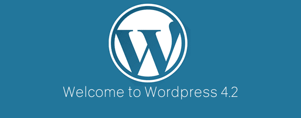 Welcome to WordPress 4.2