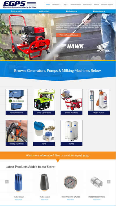 Electrical, Generator & Pump Services